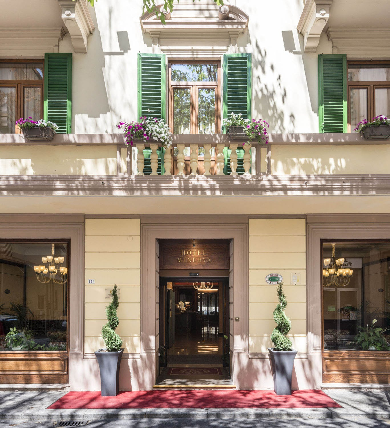 Rooms: Hotel Minerva Palace, Montecatini